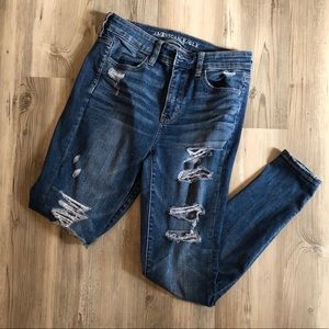 American Eagle Ripped Jeggings